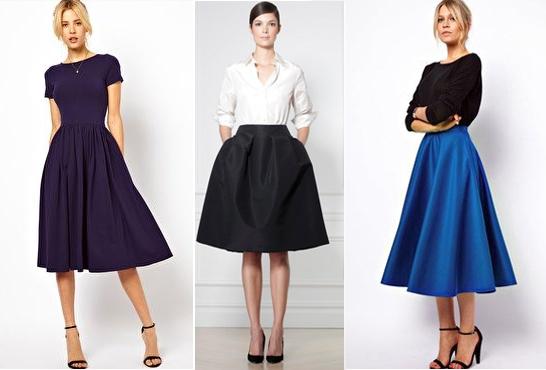 Юбки французские и блузки